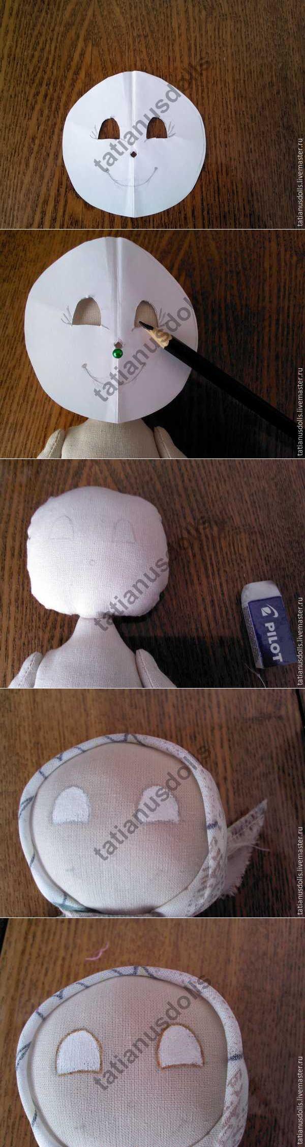 Шьем игровую текстильную куклу для детей от 1,5 лет. Часть 2 - Ярмарка Мастеров - ручная работа, handmade