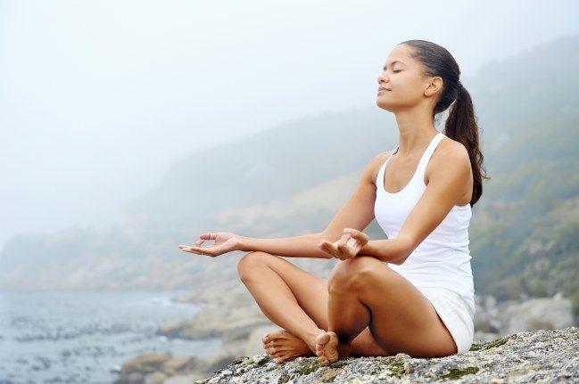 Stressabbau ist wichtig, um Bauchfett loszuwerden