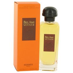 Bel Ami Vetiver by Hermes Eau De Toilette Spray 3.3 oz (Men)