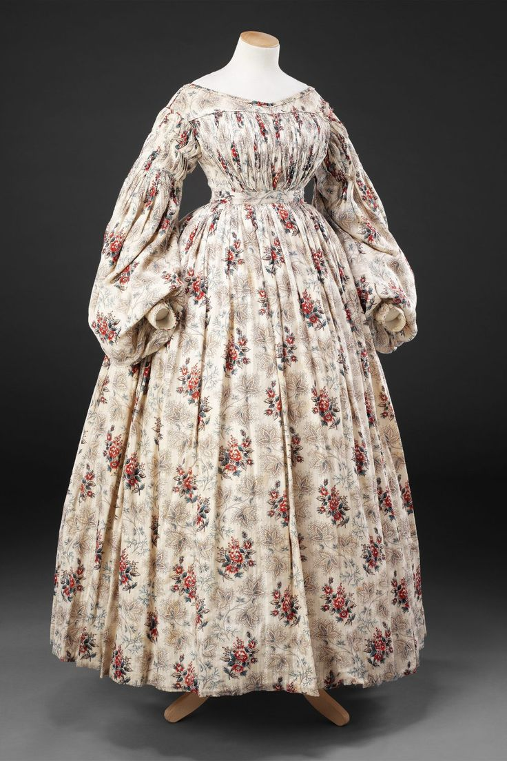 Historical Dress - Later 1830's from Jhn Bright Collection