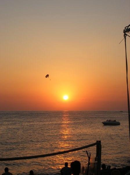 sunset strip in Ibiza