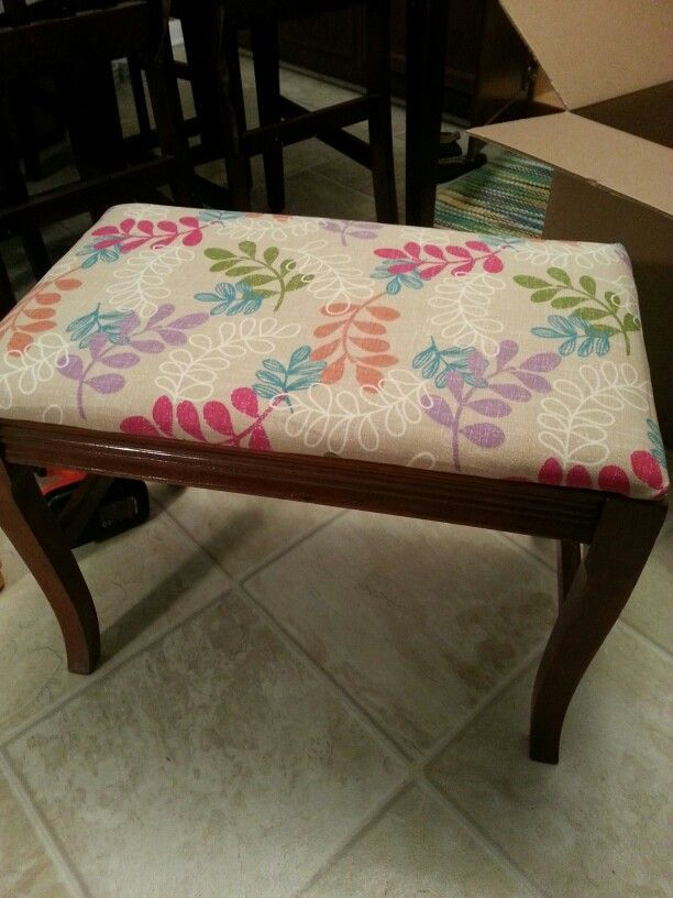 Reupholstered Bench Seat Bench Furniture Home Decor