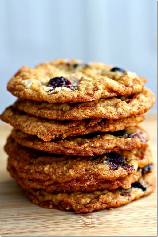Salted Caramel, Blueberry, Coconut-Corn Flake Cookies