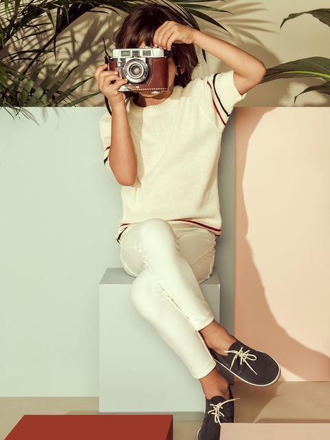 Teen girl wearing a diaper-9606
