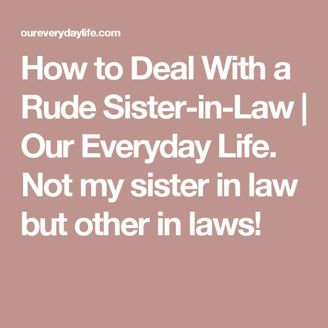 dating my sister in law brother The deceased wife's sister's marriage act 1907  the marriage was opposed by her brother  however, hardened the law into an absolute prohibition (whilst.