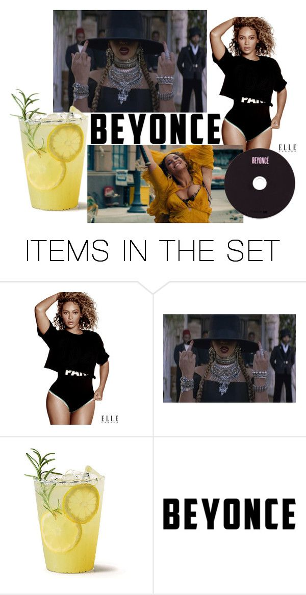 """don't worry be yonce"" by sally-w on Polyvore featuring art"