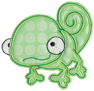 Embroidery | Free Machine Embroidery Designs | Bunnycup Embroidery | Reptiles Applique