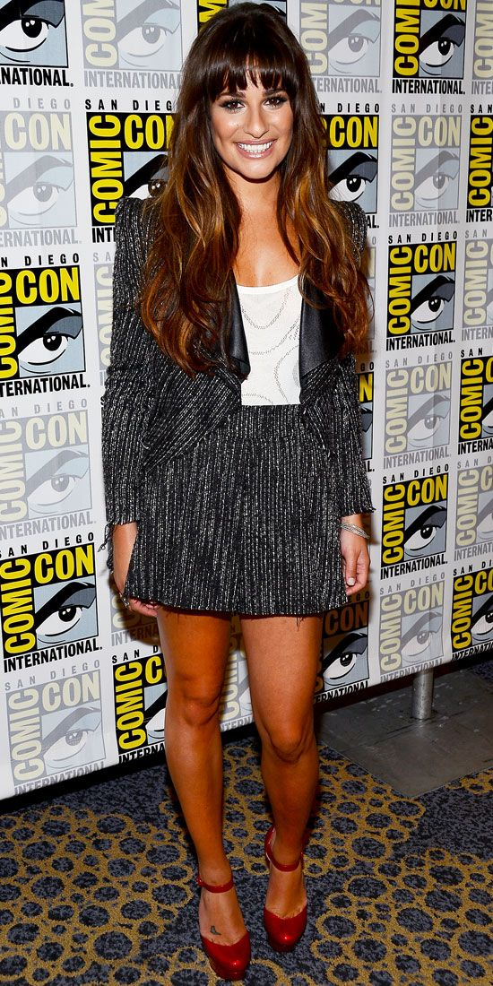 Lea Michele - Look of the Day - InStyle
