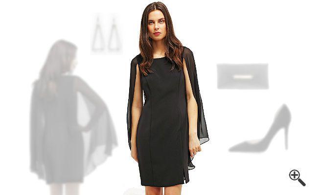 Schwarzes Kleid kombinieren + 3Schwarze Outfits für Gabi: http://www.kleider-deal.de/schwarzes-kleid-kurz/ #Schwarz #Black #Kleider #Abendkleider #Dress #Outfit Gabi liebt schwarze Outfits. Aber ein schwarzes Kleid in Kurz zu kombinieren, ist immer wieder eine kleine Herausforderung für sie. Schließlich möchte sie schlichte Eleganz mit aufregendem...