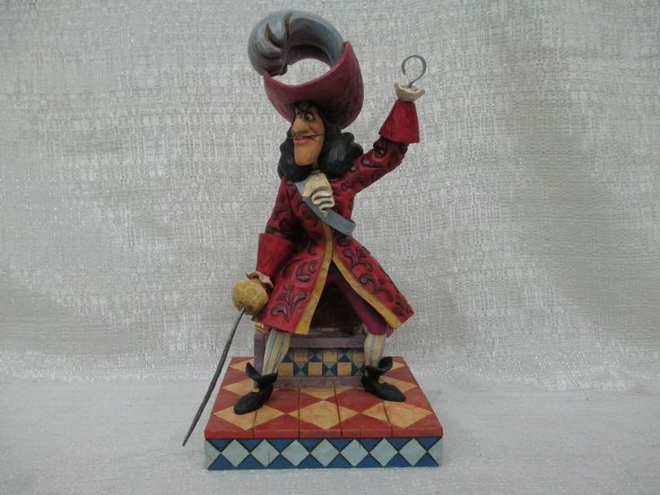 Jim Shore Walt Disney Captain Hook and Mr Smee Beware Brand New Figurine