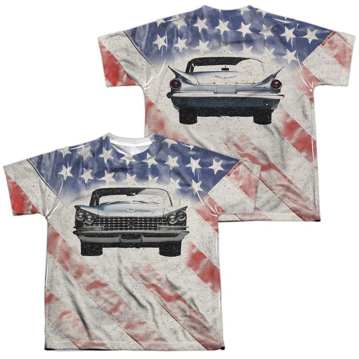 Buick - 1959 Electra Flag Youth All Over Print 100% Poly T-Shirt