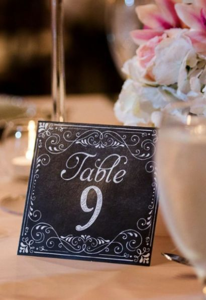 featured photographer kori biller of motley mlange wedding reception table number idea