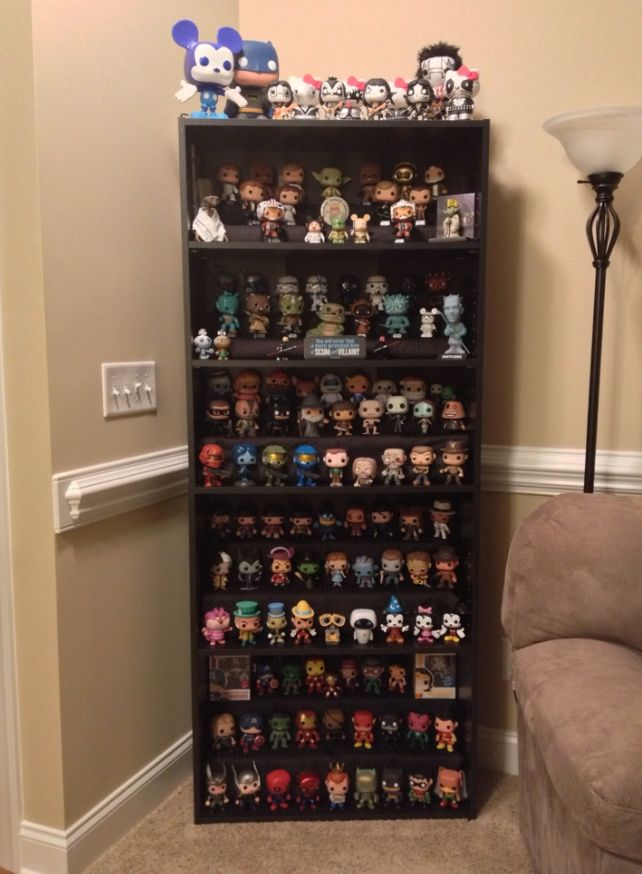 Pop Vinyl Display Funko Pop Vitrine Et Idee Rangement