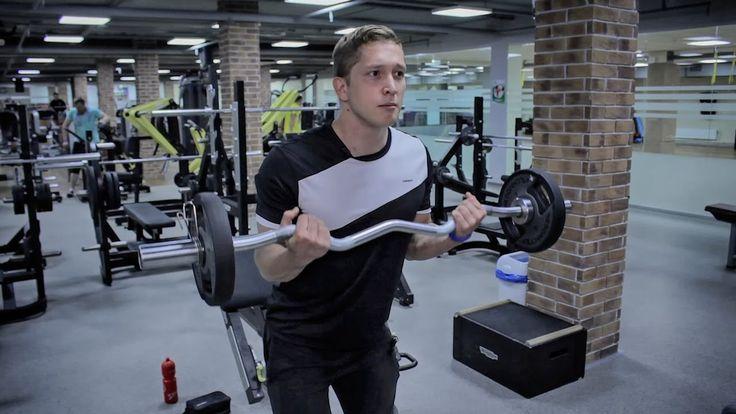Комплекс упражнений для спины, бицепса и задней дельты