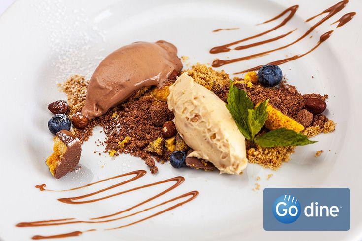 Tempting dessert. Taken at Hepburn's restaurant in Derby city centre. http://www.godine.co.uk/hepburns-restaurant-derby