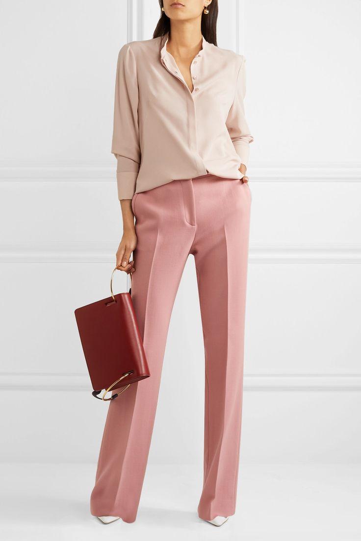 Alexander McQueen   Silk-georgette shirt   NET-A-PORTER.COM