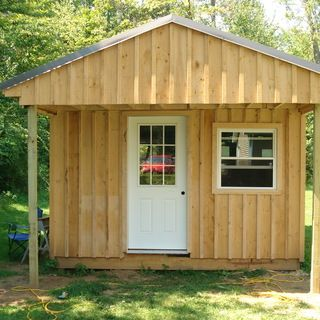 How to build a 12x20 cabin on a budget.  Click for instructions.