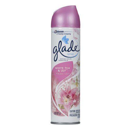 Glade Room Spray Air Freshener, White Tea & Lily, 8 Ounces at Walmart