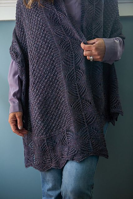 Ravelry: Sweet Jalebi pattern by Caroline Steinford, part of the Luxurious Lace from KnitPicks.