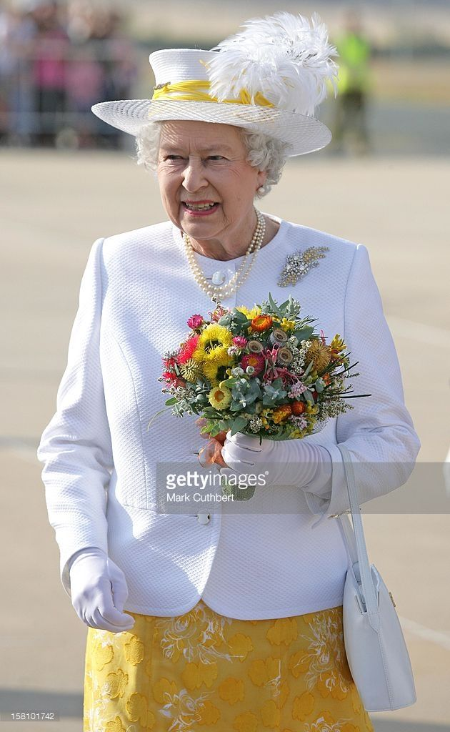 Queen Elizabeth Ii & The Duke Of Edinburgh Visit Australia.Arrival At…