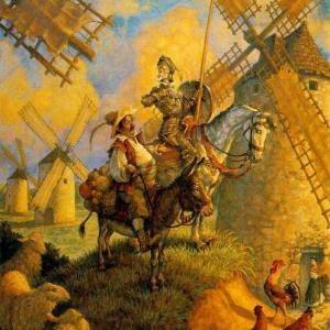Don Quixote (by Miguel de Cervantes)  A Masterpiece ♥♥