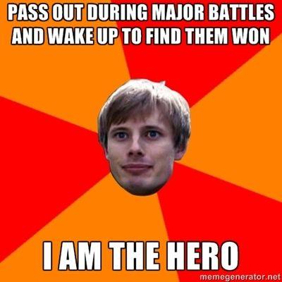 Oblivious Arthur