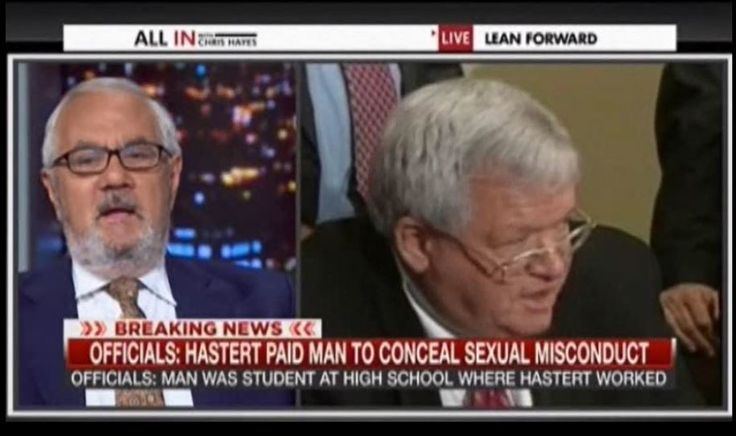Barney Frank calls out Dennis Hastert & GOP hypocrisy with a perfect statement