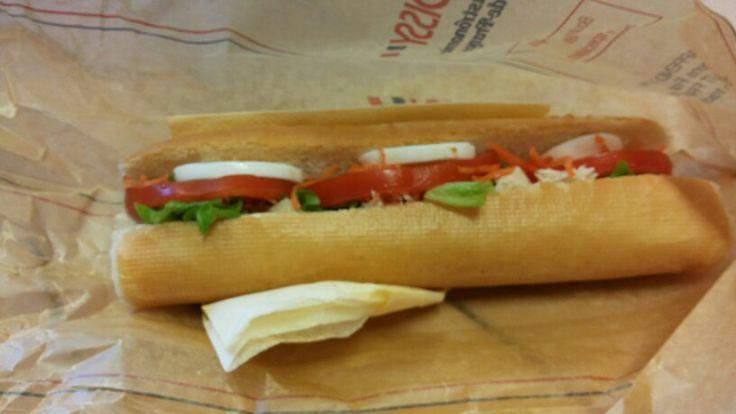 Croissy's chicken sandwich, the best in town