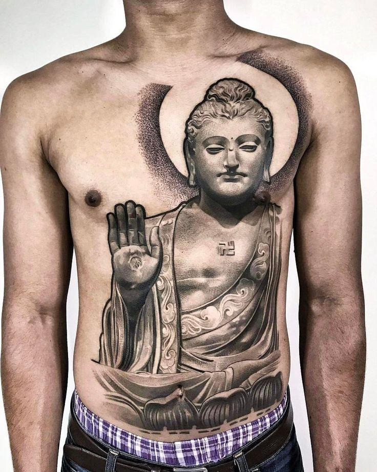 Amazing artist Lil B Hernandez @lilbtattoo awesome buddha front body suit tattoo progress!  #lilbtattoo #buddhatattoo #buddhism #artist #inked #ink #3d #tattoos #tattoo #france #artist #socal #french #blackandgrey #thailand #cali #bordeaux #photorealism #asia #portrait #westcoast #la #peaceful #back #renaissance #art #peace #artwork #europe #artsy #la #west