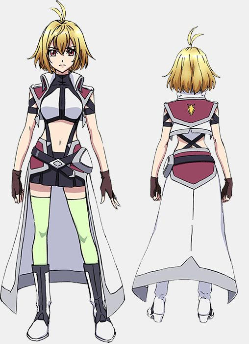 "Crunchyroll - VIDEO: Sunrise Mecha Anime ""Cross Ange"" Coming in October"