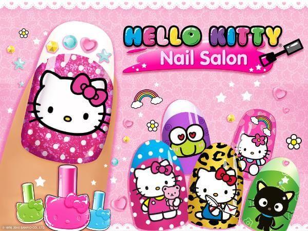 Маникюрный салон Hello Kitty скачать на Андроид