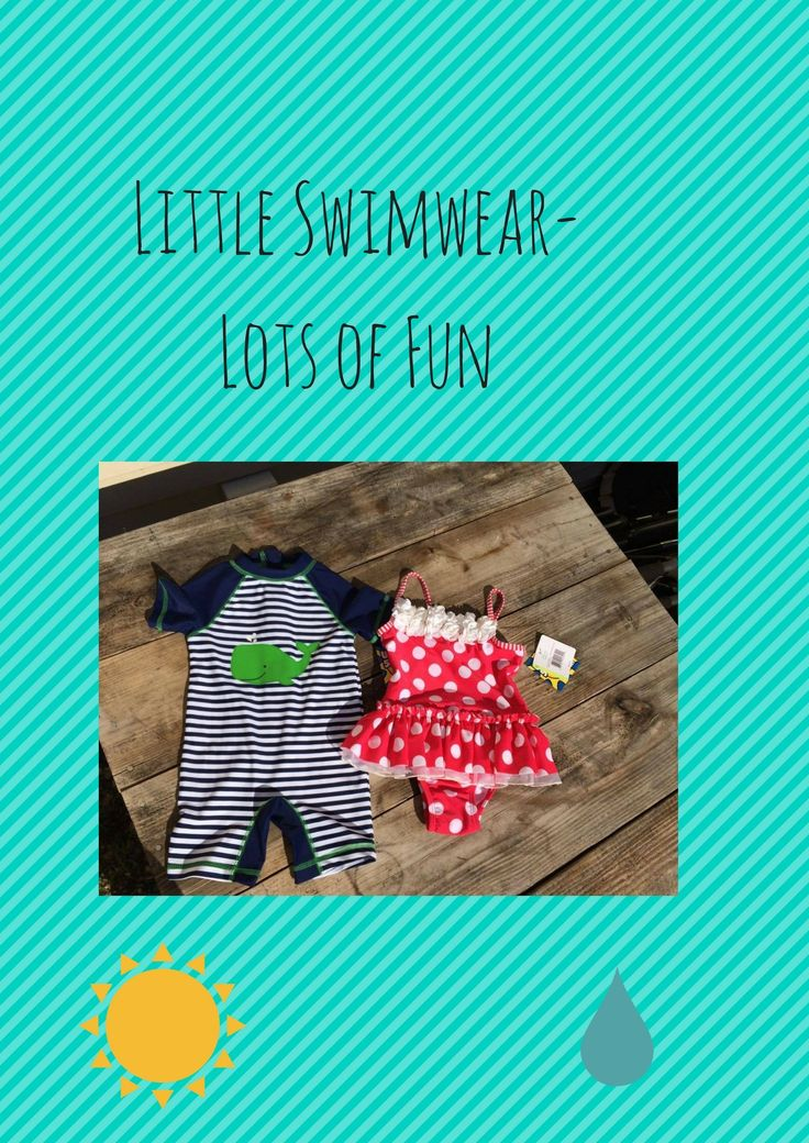 Little Swimwear - Lots of Fun --- Little Me Baby & Toddler SwimWear #ad #beautybrite