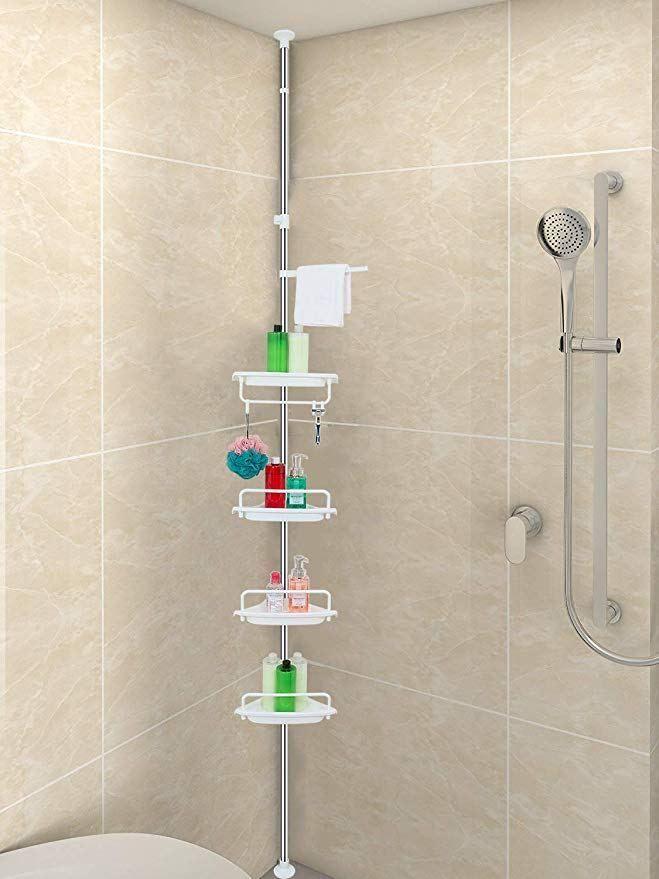 30 Impressive Master Bathroom Remodel Ideas Before After Images Corner Shower Caddy Shower Storage Bathroom Remodel Master