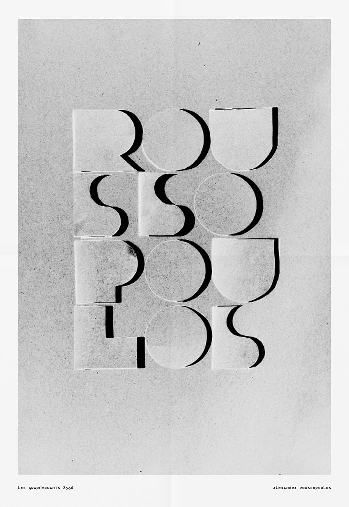 Typographies - Typo Image - Les Graphiquants