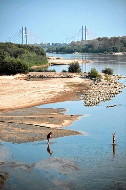 Wisła River / Phot. Filip Klimaszewski / Agencja Gazeta