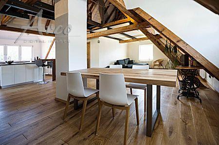 Http://www.arco Images.de/ausgebauter Dachstuhl