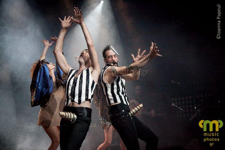 """The Burlesque Music Show"": Alevras & Mouzourakis @ Fuzz [part I] - musicphotos.gr #musicphotos #concert #Mouzourakis #Alevras #Athens #Greece"