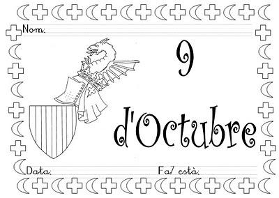 Mi grimorio escolar: PROYECTO EL 9 DE OCTUBRE