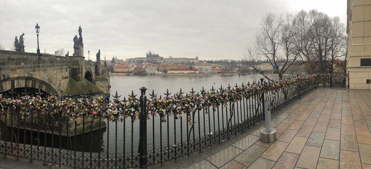Lock bridge, Prague