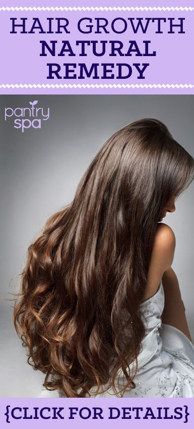 If you are trying to grow your hair longer, this is a great natural remedy!