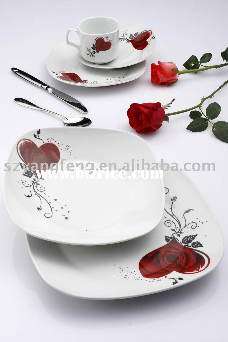 Elegant Tableware Dinnerware Set Heart Design Especial Direct With Best  Price Awesome Ideas