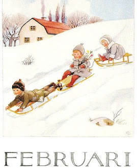 February by Elsa Beskow