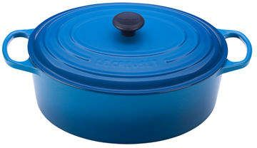 Le Creuset Oval French Oven  #LeCreuset #blue #kitchen #cooking #affiliate