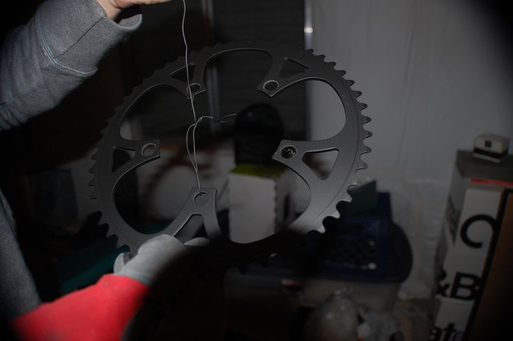 I built a DIY powder coating oven to coat my own parts at home. I set up the whole operation in my garage. The entire oven cost about $250, but when it runs about $150 to do a bike frame & fork, it's easy to break-even.  I am in the process of making up some build plans. I will post when they're complete.  Here is the progress from the first day until...