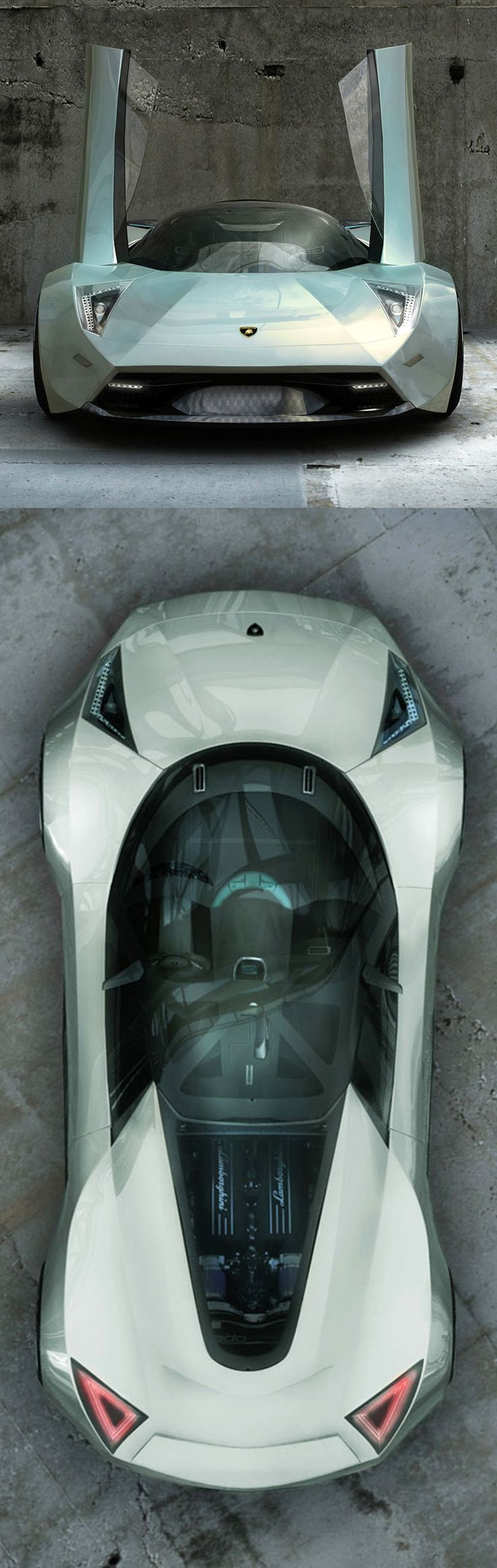 ♂ Lamborghini Insecta Concept car silver from http://www.carbodydesign.com/gallery/2009/03/02-lamborghini-insecta-concept/12/