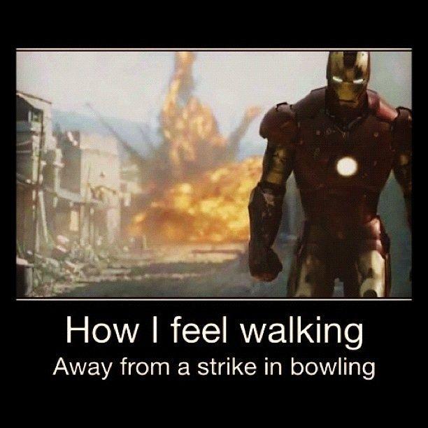 Iron Man Meme #Bowling, #Feel