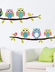 Dieren / Stilleven / Mode / Vrije tijd Wall Stickers Vliegtuig Muurstickers,PVC 54*35*0.1 – EUR € 3.91