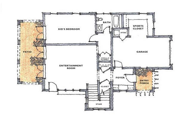 17 best hgtv dream home floor plans images on pinterest house first floor hgtv dream home 2008 floor plan pictures on hgtv malvernweather