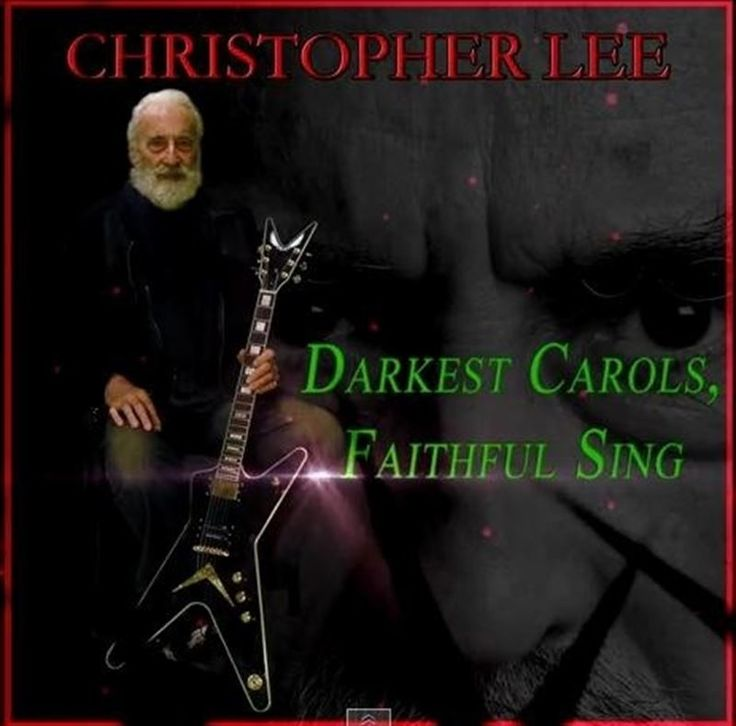 Legendary actor and horror icon Christopher Lee is back again this Christmas season with a new heavy metal song to bang your head to for the holiday. This