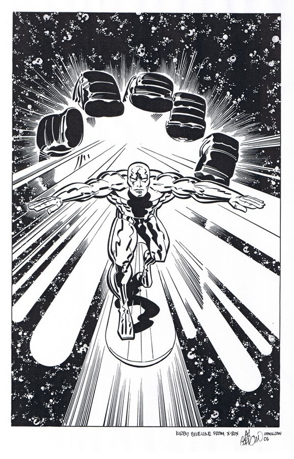 are2:  Silver Surfer — Jack Kirby